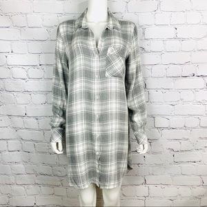 Anthropologie Cloth & Stone Women's Shirt Dress M
